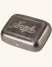 Victorian Travel Soap Tin