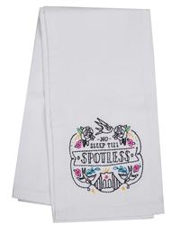 No Sleep Till Spotless Tea Towel
