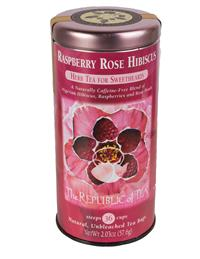 Raspberry Rose Hibiscus Tea