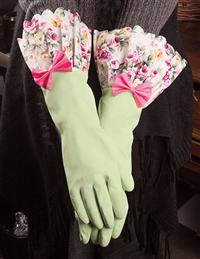 """Mint For You"" Rubber Gloves"