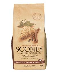 Sticky Fingers Scone Mix (Cinnamon Raisin)