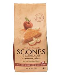 Sticky Fingers Scone Mix (Glazed Apple Cinnamon)