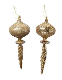 Dresden Champagne Finials (Set Of 2)