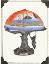 OCTOBER REVERIES LAMP