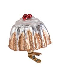 Merry Cherry Bundt Cake Ornament