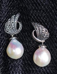 Celestial Freshwater Pearl Earrings