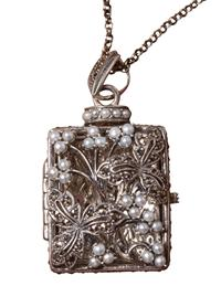 Secret Diary Locket Pendant