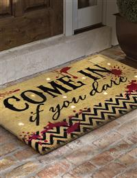 Come In If You Dare Unwelcome Mat
