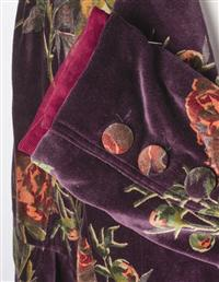 Plum Wine Velvet Jacket
