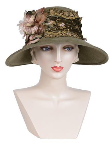 Louise Green Angelina Hat