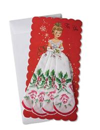 Mailable Hankie (Miss Christmas With Holly Rose)