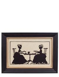 Afternoon Tea Silhouette