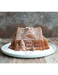 Gingerbread House Bundt Pan