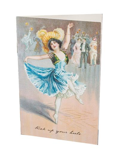 Kick Up Your Heels Pop-up Card