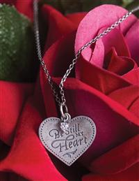 """Be Still My Heart"" Necklace"