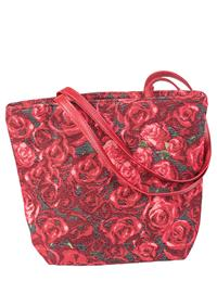 Red Roses Tapestry Tote
