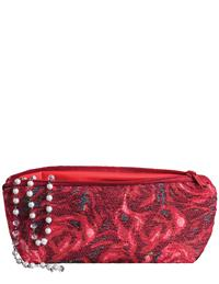 Red Roses Tapestry Make Up Bag