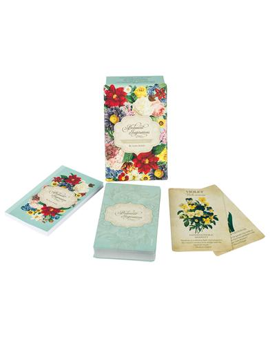 Botanical Inspirations Deck And Book Set