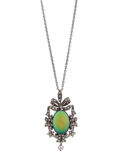 Victorian Jewelry: Rings, Earrings, Necklaces, Hair Jewelry Baroque Mood Pendant $149.95 AT vintagedancer.com