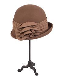 Gothic Woolen Winter Cap (Brown)