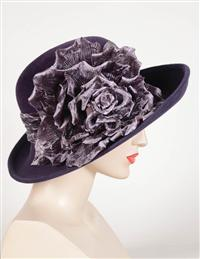 Louise Green High Society Brim Hat