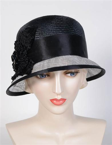 Women's Vintage Hats | Old Fashioned Hats | Retro Hats Louise Green Aristocrat Brim Hat $349.95 AT vintagedancer.com