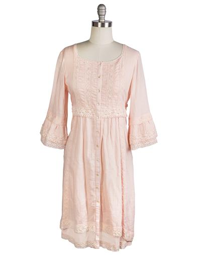 April Cornell Blush Dress Pink