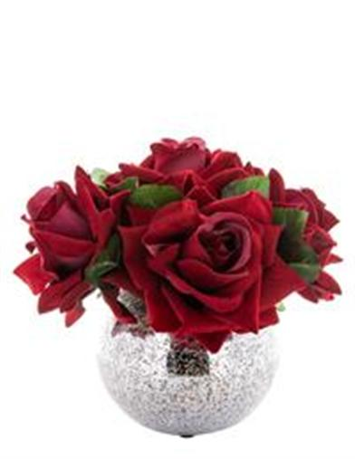 Rose Reflection Centerpiece