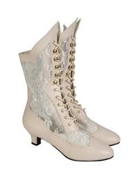 High Society Lace Boots
