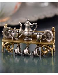 Tea Shelf Brooch