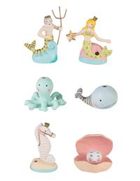 Mermaid Lagoon Candle Holders (Set Of 6)