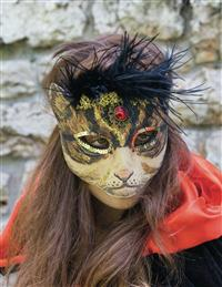 Masquerade Bengal Cat Mask