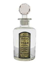Poison & Potion Bottles (Set Of 3)