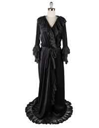 Christine's Dressing Gown (Black)