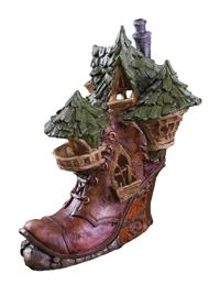 Victorian Shoe Fairy Cottage