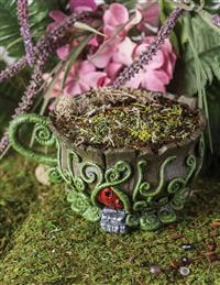 Woodland Teacup Fair Home Planter