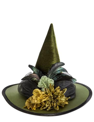 Poison Ivy Floral Witch Hat