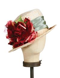 Kathy Jeanne Crimson Rose Hat