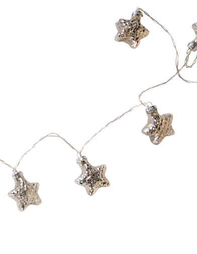Silver Star Light Strands