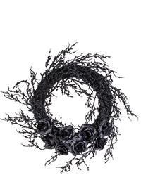 Gothic Rose Wreath