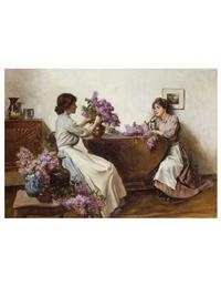 Arranging The Lilac