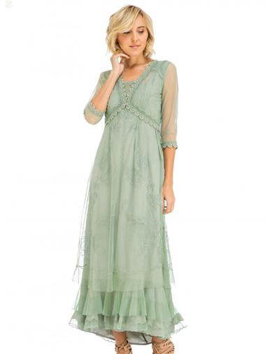 Victorian Costumes: Dresses, Saloon Girls, Southern Belle, Witch Days Of Avonlea Dress Small $249.95 AT vintagedancer.com