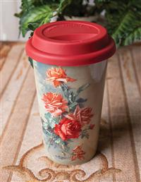 Warm Heart Travel Mug