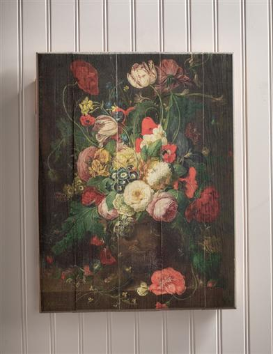 Still Life Of Flowers Wall Hanging