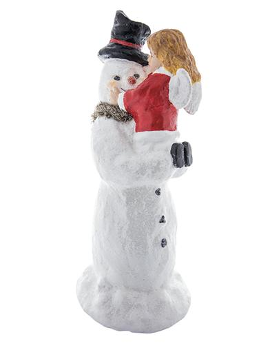 Rosy-cheeked Snowman Figure