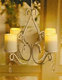 Flickering Ivory Candles (Set Of 4)