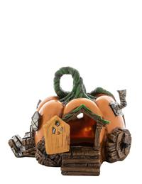 Pumpkin Carriage Fairy House
