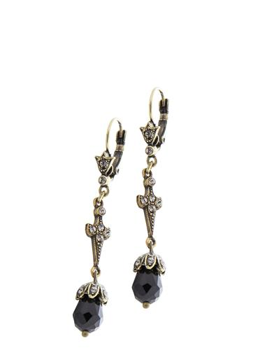 1920s Gatsby Jewelry- Flapper Earrings, Necklaces, Bracelets Art Deco Lavaliere Earrings $39.99 AT vintagedancer.com