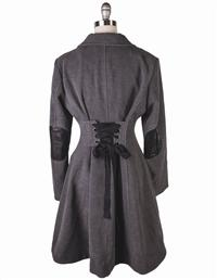 Grey Riding Coat
