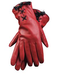 Crimson Corset Gloves